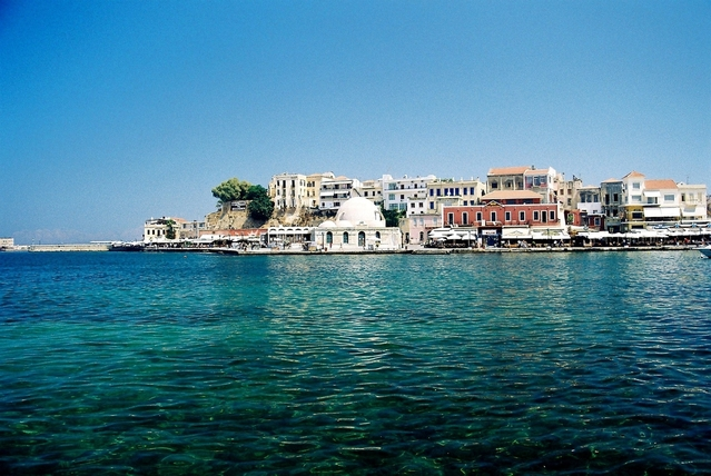 Old Chania Port, Crete, Greece daytime photo