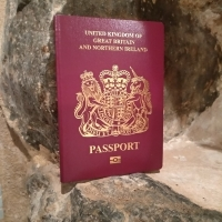 """British Passport 2019 Without EU on Cover"""
