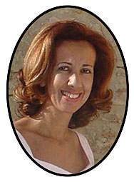 Close up picture of Ms Chara Liandri-Werner, Attorney at Law, Crete Lawyer in Rethymno, Greece