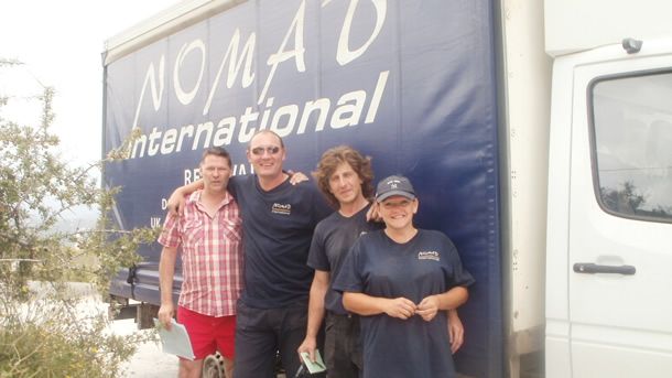 Ged Hoburn of Sarahs Hope and Nomad Intl Crew